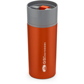 GSI Glacier Stainless Commuter Mug 500ml, orange